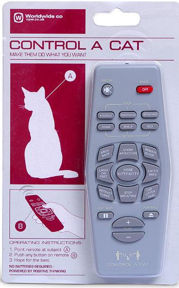 control a cat remote control