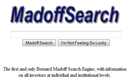madoff search engine
