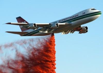 Evdergreen 747 watertanker