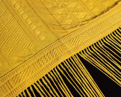 spider silk tapestry