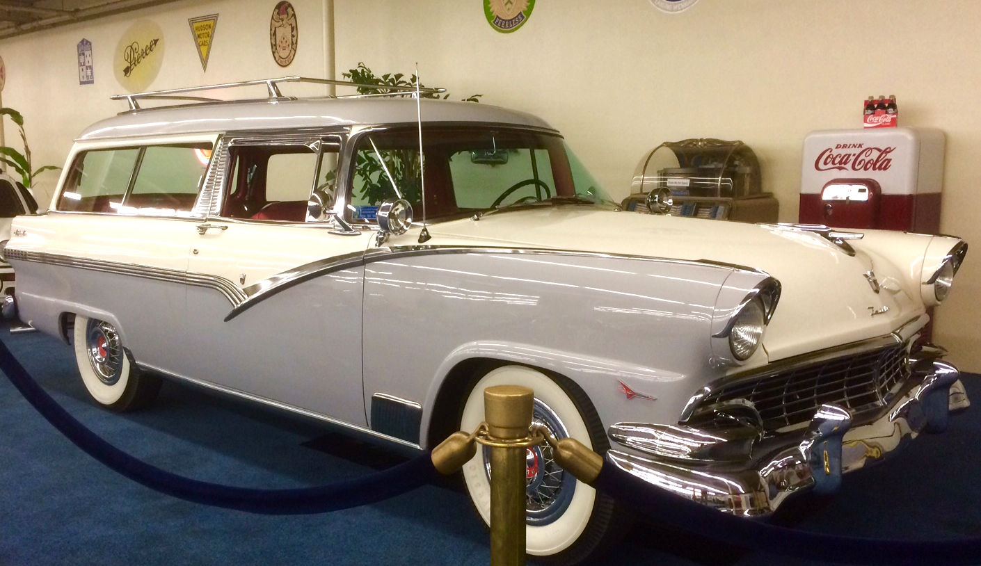 1956 ford parklane 2 door station wagon with video bob for 1956 ford wagon 2 door