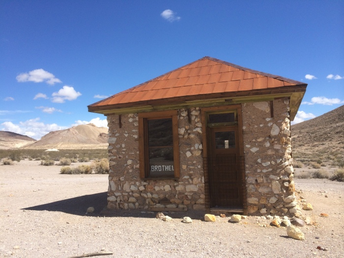 Rhyolite NV ghost town brothel